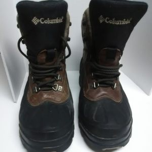 Columbia Boots Brown Size 7 Over Ankle Lace Up Out